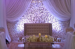 drapings & backdrops for weddings